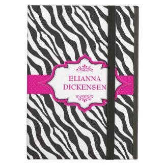 Zebra Pink Ribbon iPad Air Case