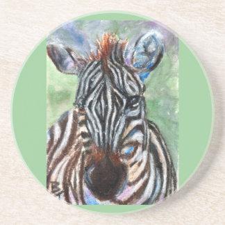 Zebra Portrait Coaster