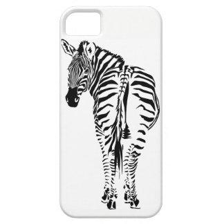 Zebra Portrait  Iphone case