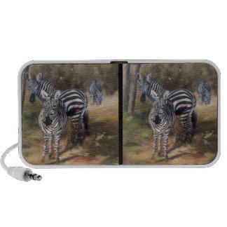 Zebra Portrait Speaker