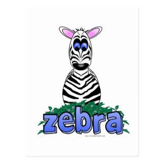 ZEBRA POSTCARDS