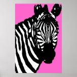 zebra. print