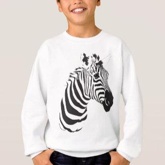 Zebra-print-001 Sweatshirt