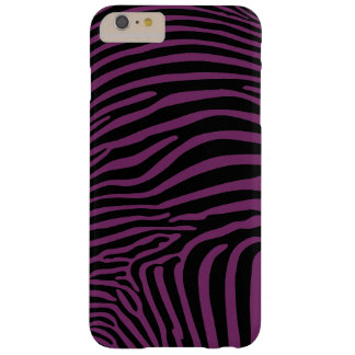Zebra Print Barely There iPhone 6 Plus Case