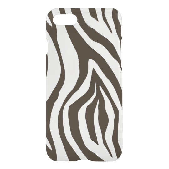Zebra Print black and white iphone 7 case