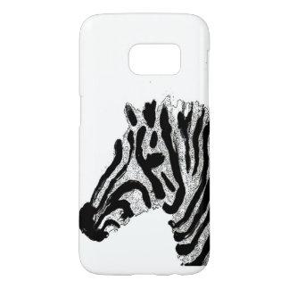 Zebra Print Black and White Stripes