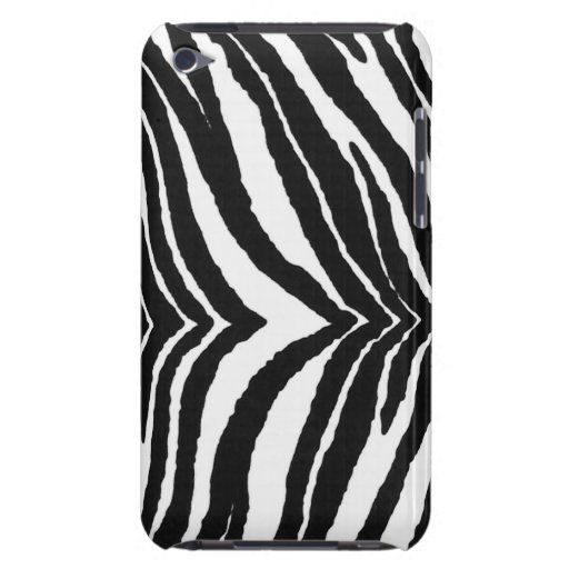 Zebra Print Barely There iPod Covers