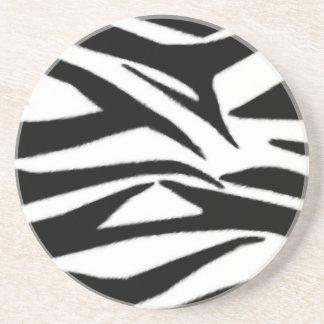 Zebra Print Coaster