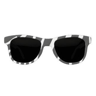 Zebra Print Frame Sunglasses