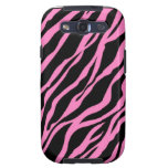 Zebra print Galaxy S3 phone case Galaxy SIII Case
