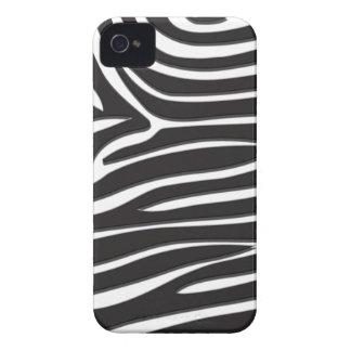 Zebra Print iPhone 4 Case-Mate Case