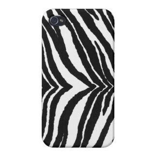 Zebra Print iPhone 4 Cover