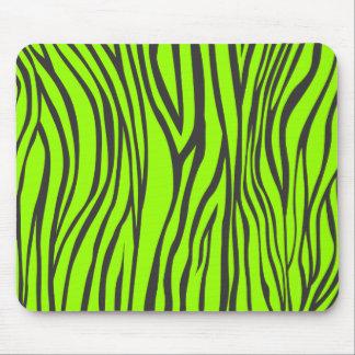 zebra print mouse mat