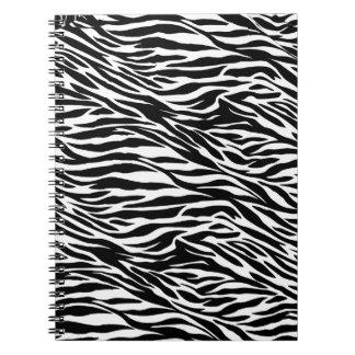 zebra print notebook
