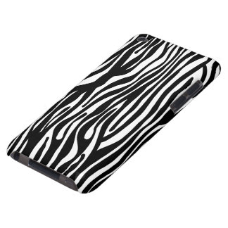 Zebra Print Pattern - Black and White iPod Touch Cover