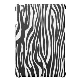 Zebra Print Pattern - Black and White Case For The iPad Mini