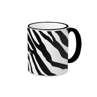 Zebra Print Pattern Mug