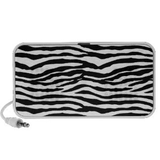 Zebra Print Pattern Speakers