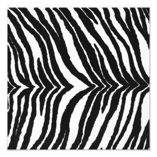Zebra Print Photo Print