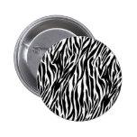 Zebra Print Pin