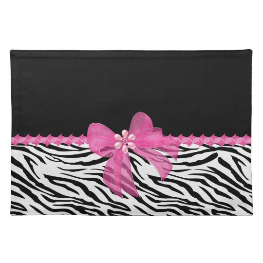 Zebra Print Placemats