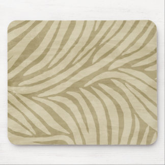 Zebra Print Sand Mouse Pad