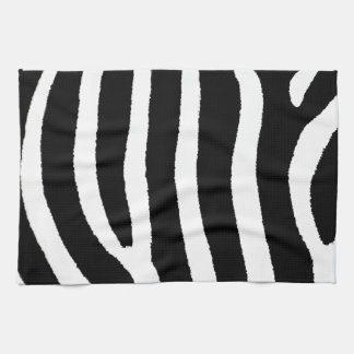 Zebra Print Tea Towel