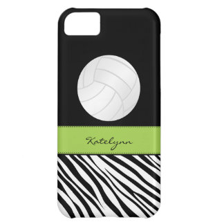 Zebra Print Volleyball iPhone 5 Case