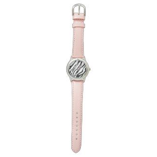 Zebra print watch