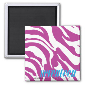 Zebra Purple Fridge Magnets
