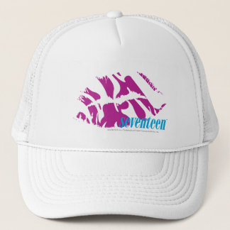 Zebra Purple Trucker Hat