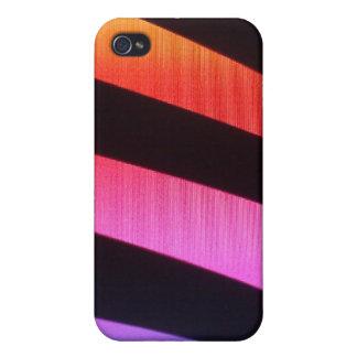 zebra rainbow print Iphone cover iPhone 4 Cover