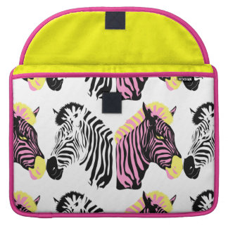 Zebra Rickshaw Flap Sleeve Macbook Pro 15 MacBook Pro Sleeves