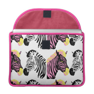 Zebra Rickshaw Flap Sleeve Sleeve For MacBook Pro