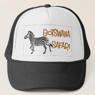 Zebra Safari Botswana Cap