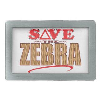 Zebra Save Belt Buckle
