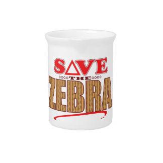 Zebra Save Pitcher