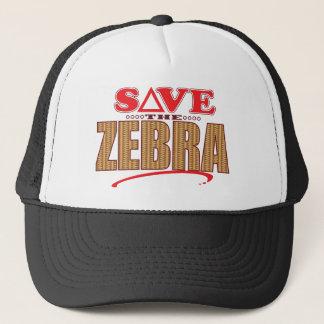 Zebra Save Trucker Hat
