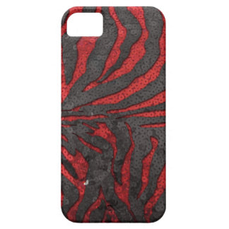 Zebra Sequins Barely There iPhone 5 Case
