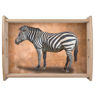 ZEBRA SERVING TRAY