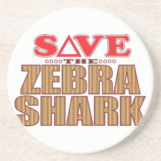 Zebra Shark Save Coaster
