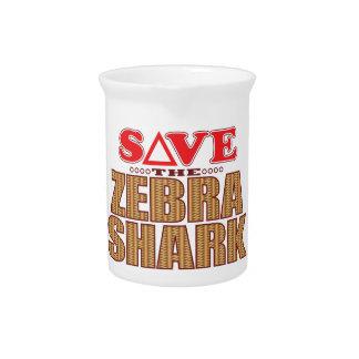 Zebra Shark Save Pitcher