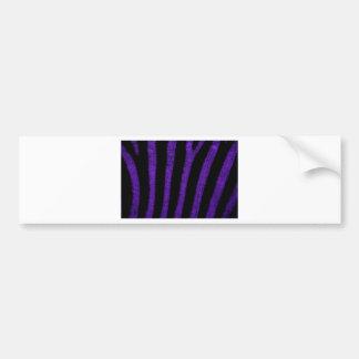 Zebra Skin Bumper Sticker
