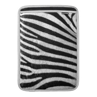 Zebra Skin MacBook Sleeve