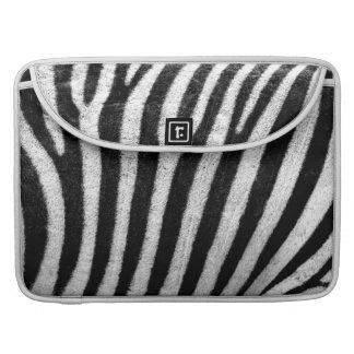 Zebra Skin MacBook Pro Sleeves
