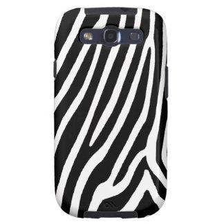zebra skin, patterns samsung galaxy s3 covers