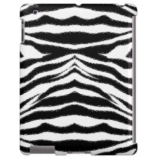 Zebra Skin Print iPad Case