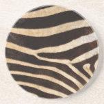 Zebra Skin Print Coaster