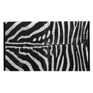 Zebra Skin Print iPad Folio iPad Folio Case