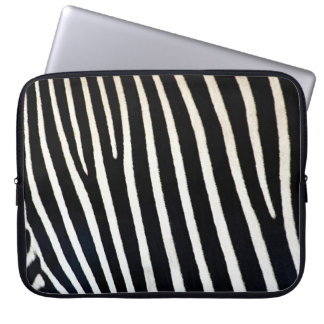 Zebra Skin Sleeve Computer Sleeves